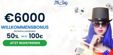 Mr Sloty Casino Bonus