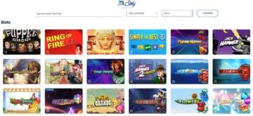 Mr Sloty Casino Spiele
