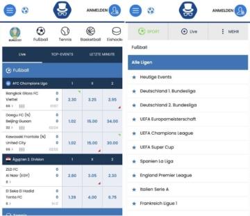 Mr Sloty Sportwetten App