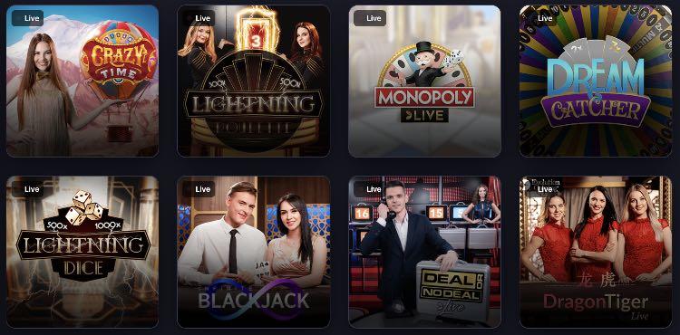 Praise Live Casino