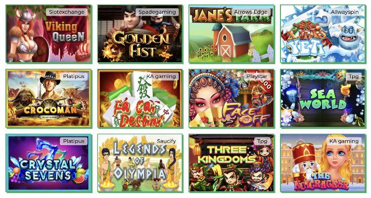 Lady Linda Slots Spieleangebot