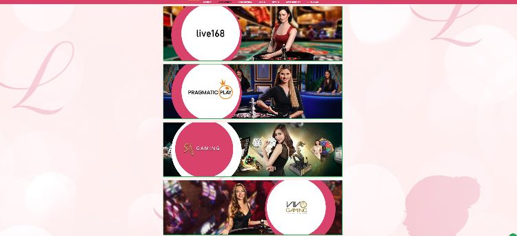 Lady Linda Slots Live Casino
